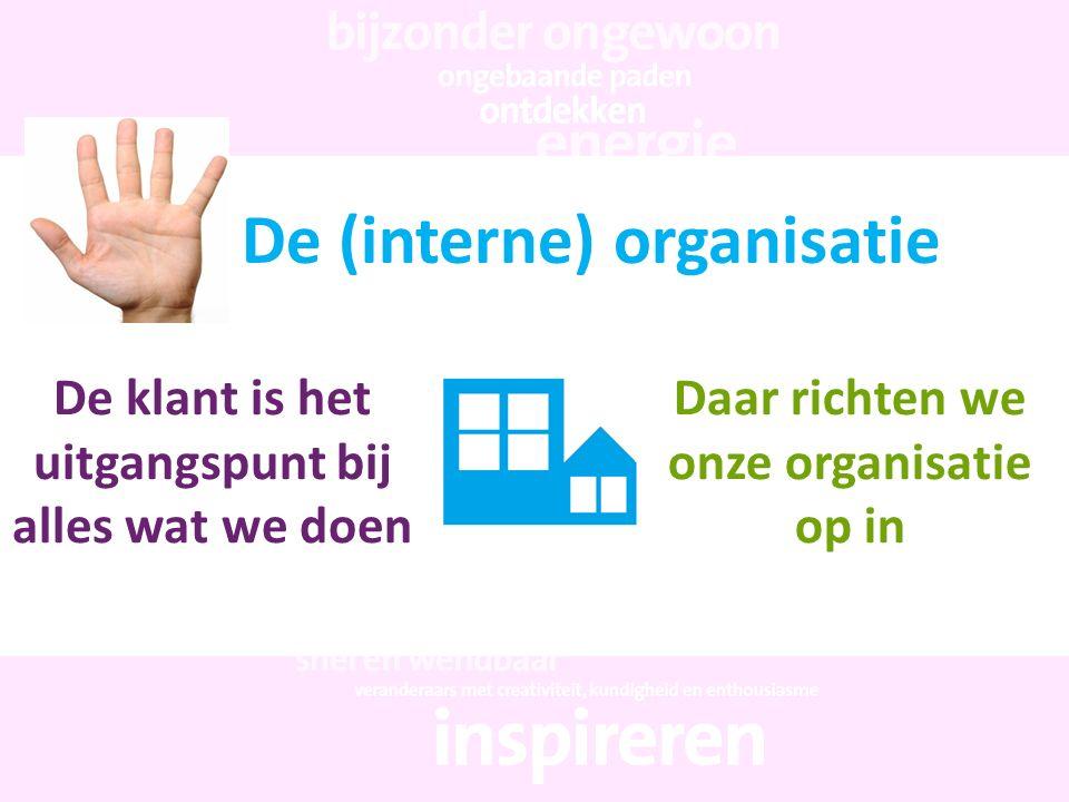 De (interne) organisatie