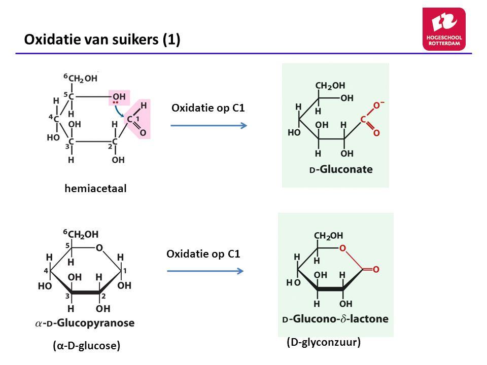 Oxidatie van suikers (1)