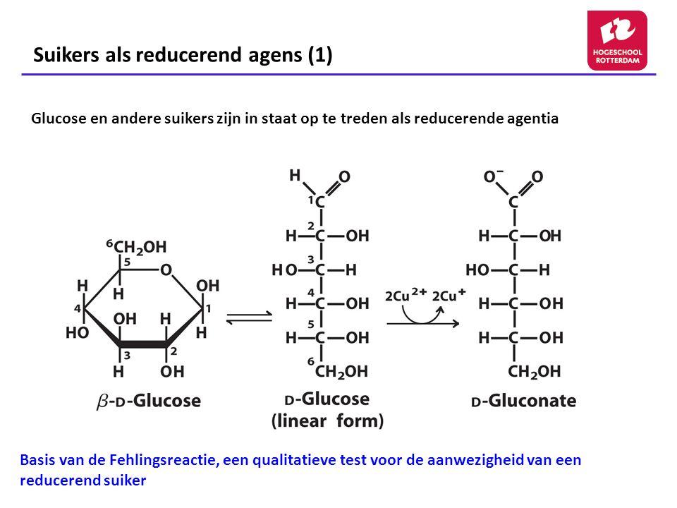 Suikers als reducerend agens (1)