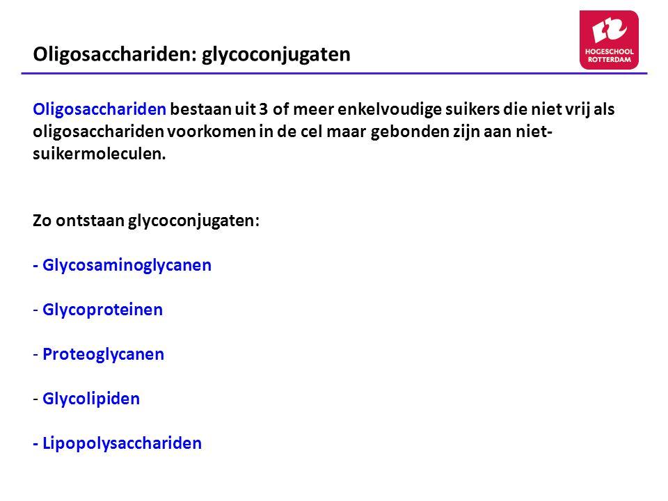 Oligosacchariden: glycoconjugaten