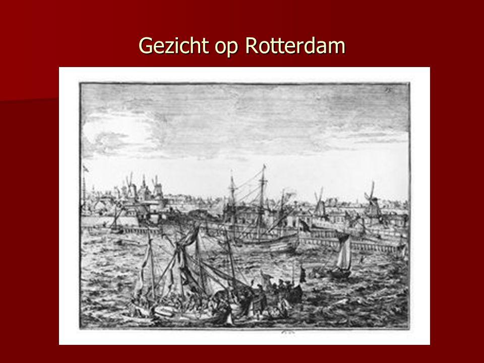 Gezicht op Rotterdam