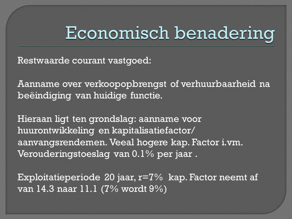 Economisch benadering
