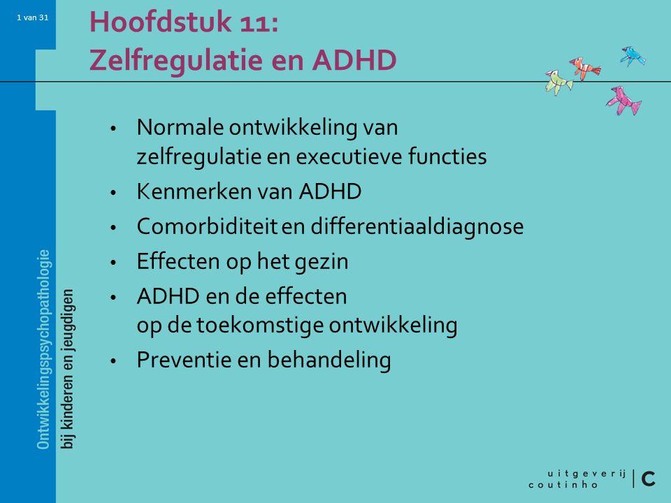 Hoofdstuk 11: Zelfregulatie en ADHD