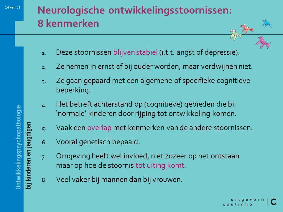 Neurologische ontwikkelingsstoornissen: 8 kenmerken