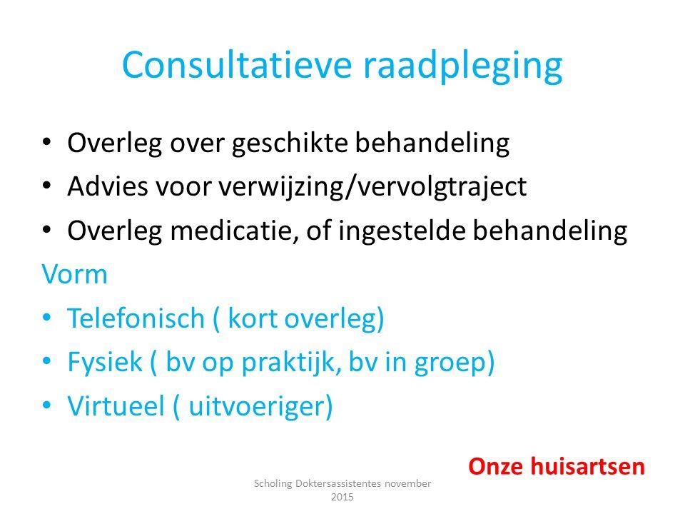 Consultatieve raadpleging