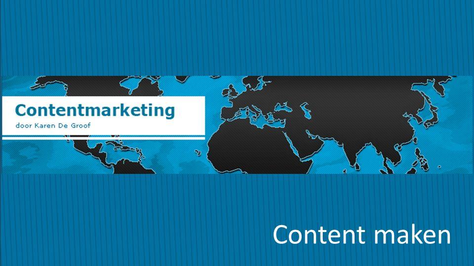 Contentmarketing Content maken