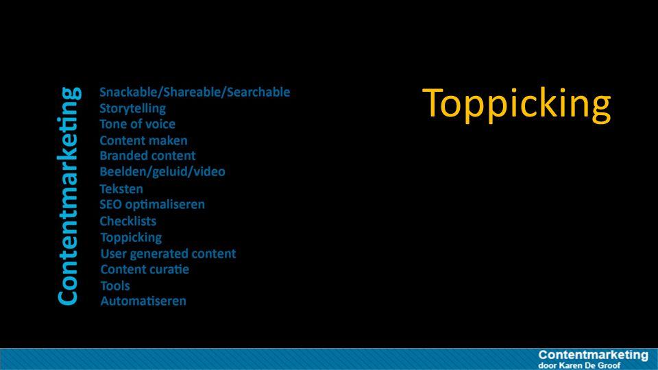 Toppicking