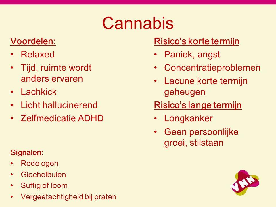Cannabis Voordelen: Relaxed Tijd, ruimte wordt anders ervaren Lachkick