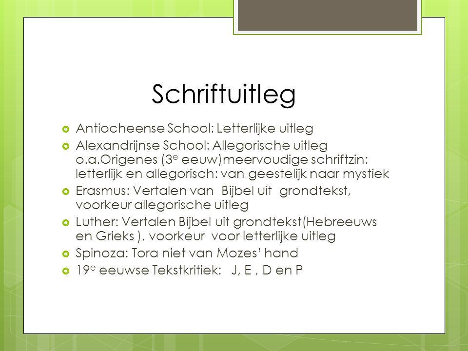 Schriftuitleg Antiocheense School: Letterlijke uitleg