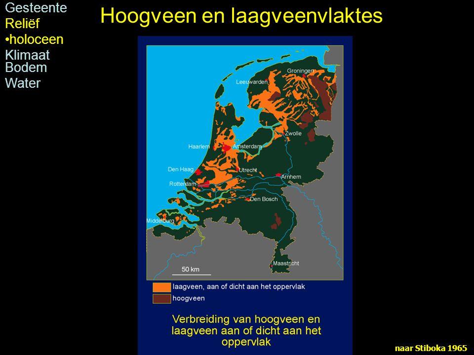 Hoogveen en laagveenvlaktes