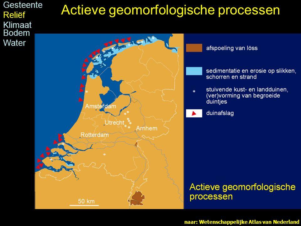 Actieve geomorfologische processen