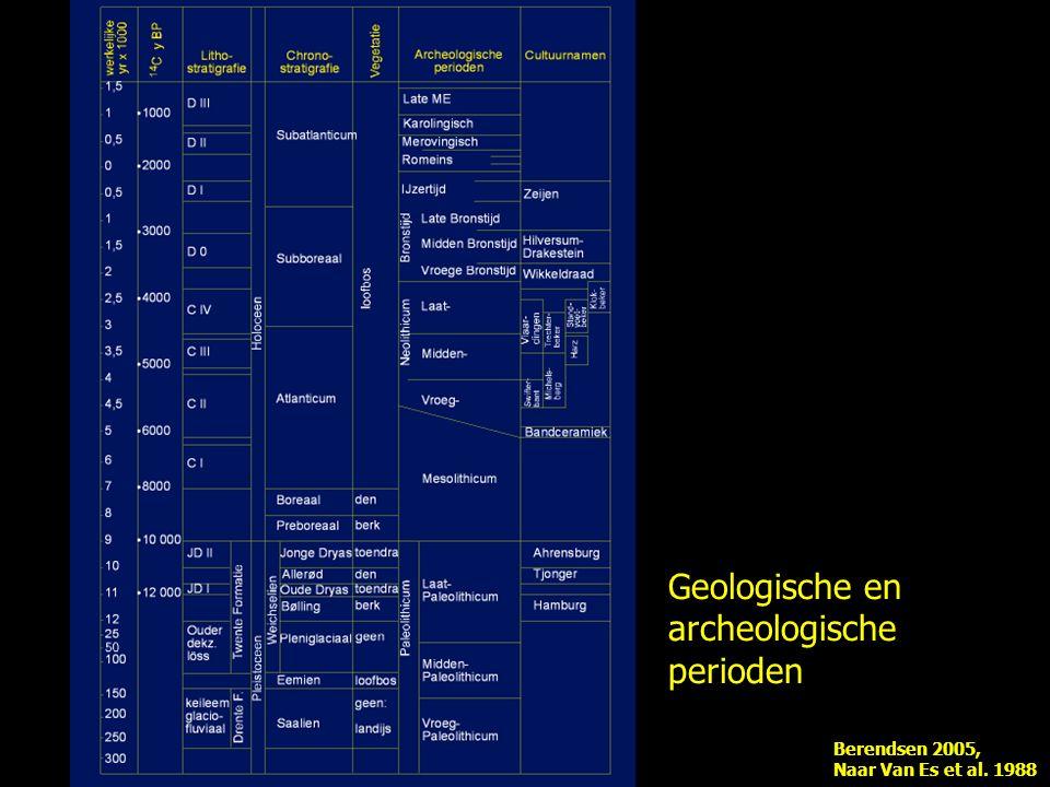 Geologische en archeologische perioden