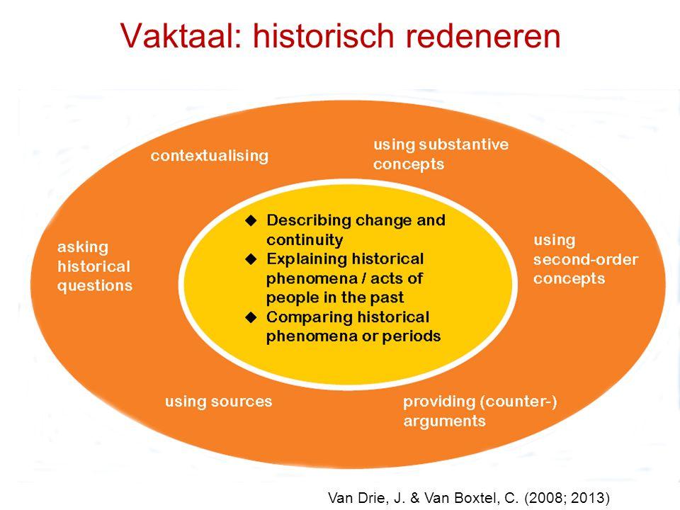 Vaktaal: historisch redeneren