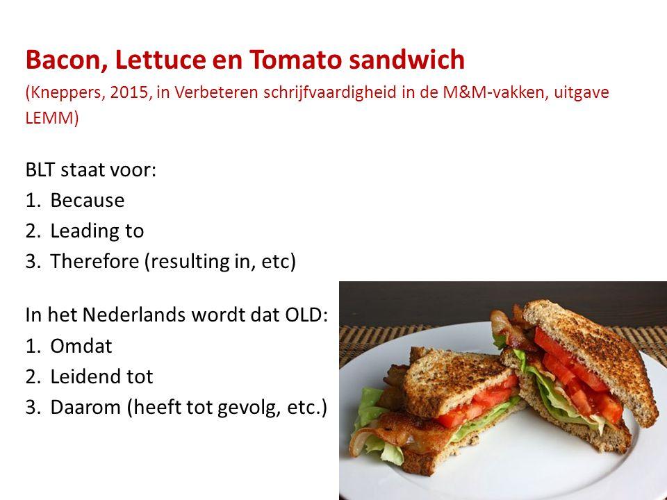 Bacon, Lettuce en Tomato sandwich