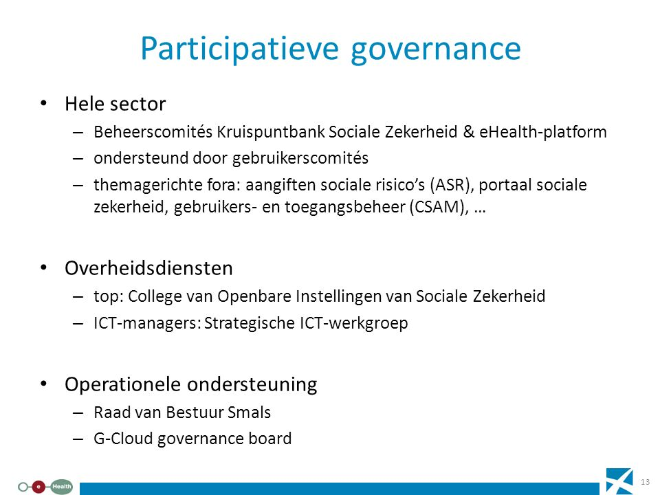 Participatieve governance