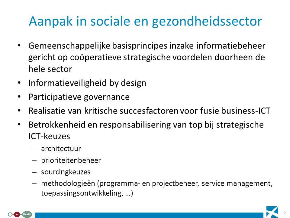 Aanpak in sociale en gezondheidssector