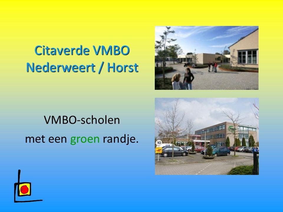 Citaverde VMBO Nederweert / Horst