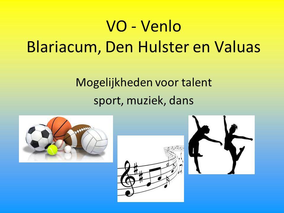 VO - Venlo Blariacum, Den Hulster en Valuas