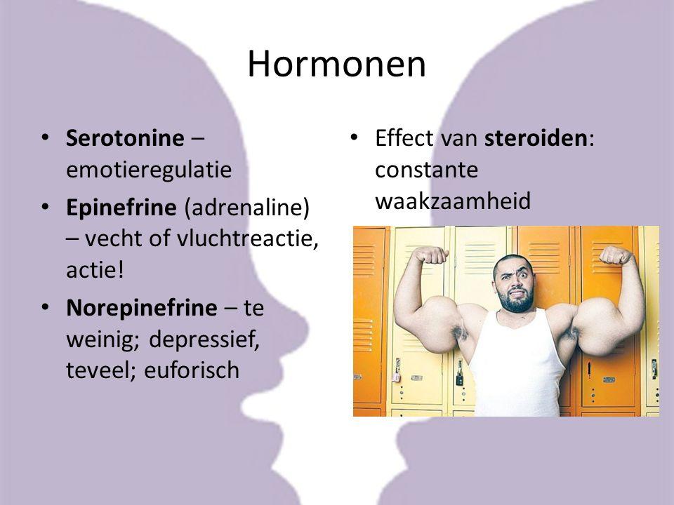 Hormonen Serotonine – emotieregulatie