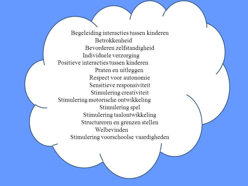 Begeleiding interacties tussen kinderen Betrokkenheid