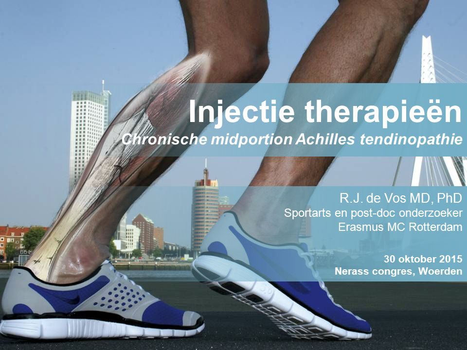 Injectie therapieën Chronische midportion Achilles tendinopathie