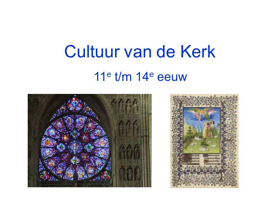 Cultuur van de Kerk 11e t/m 14e eeuw