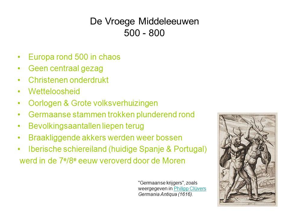 De Vroege Middeleeuwen 500 - 800