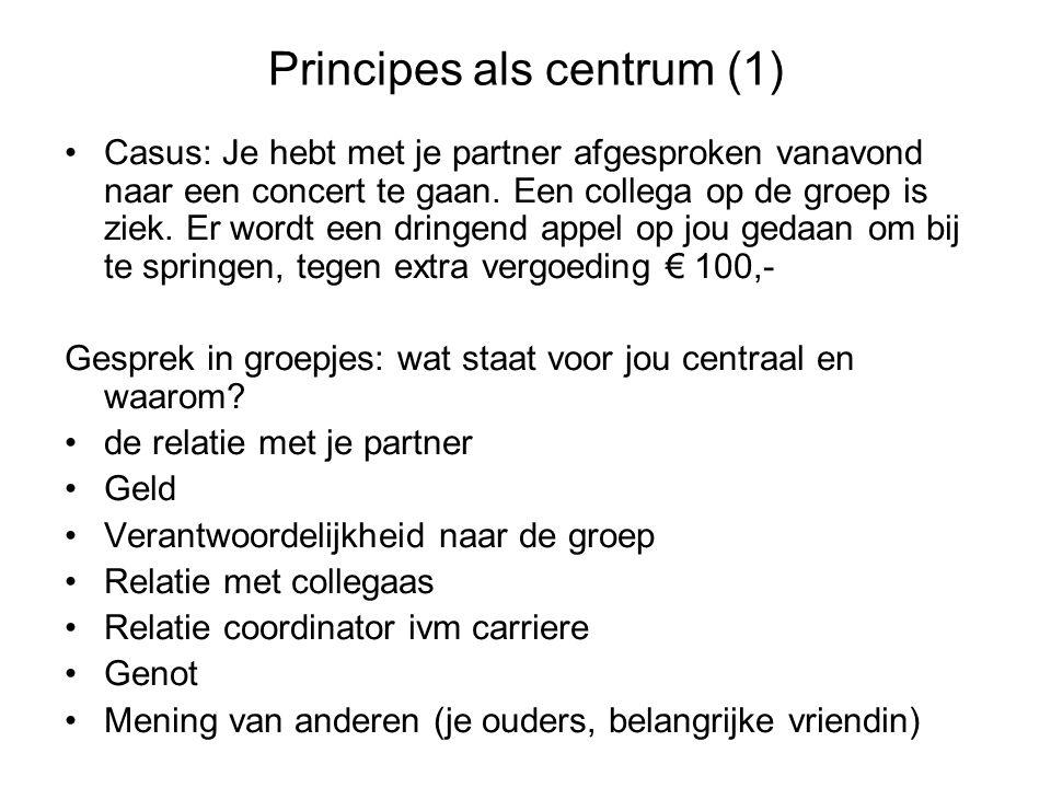 Principes als centrum (1)