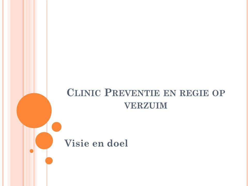 Clinic Preventie en regie op verzuim