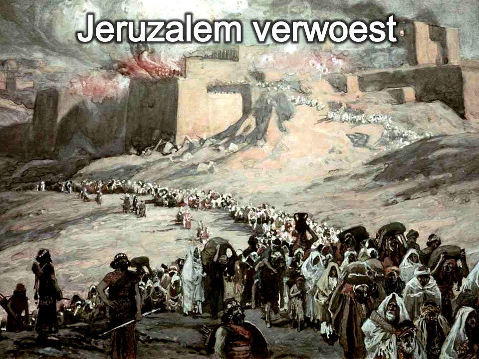 Jeruzalem verwoest