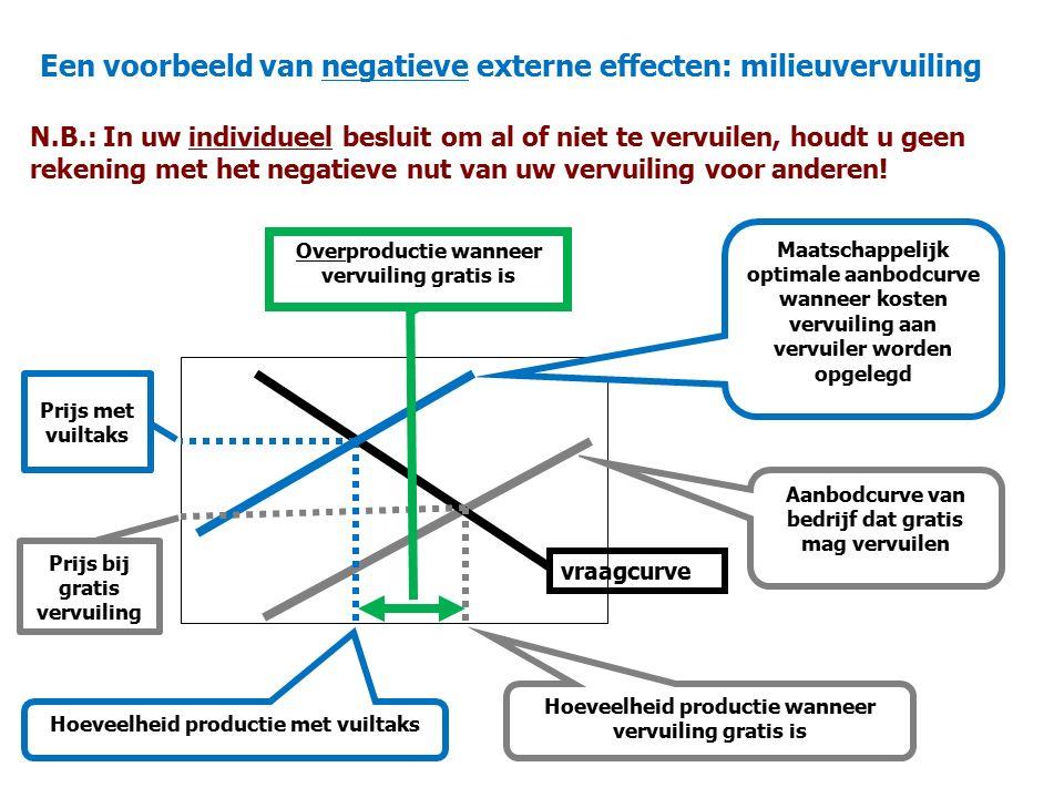 Een voorbeeld van negatieve externe effecten: milieuvervuiling