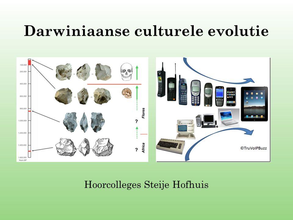 Darwiniaanse culturele evolutie