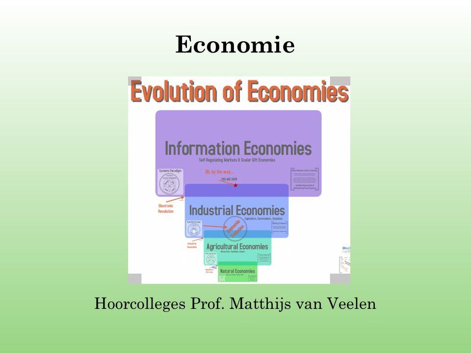 Hoorcolleges Prof. Matthijs van Veelen