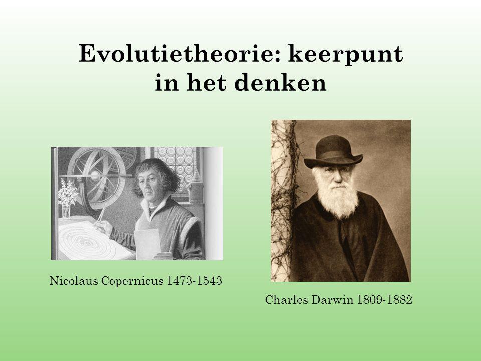 Evolutietheorie: keerpunt in het denken