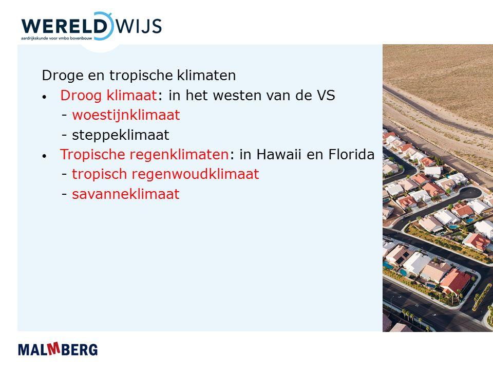 Droge en tropische klimaten - woestijnklimaat - steppeklimaat