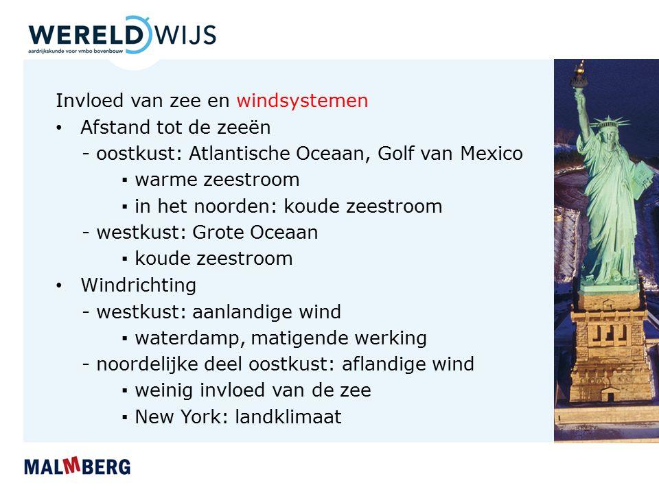 Invloed van zee en windsystemen