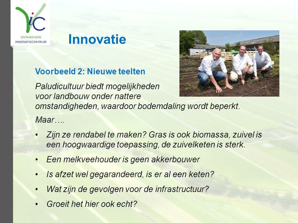 Innovatie Voorbeeld 2: Nieuwe teelten