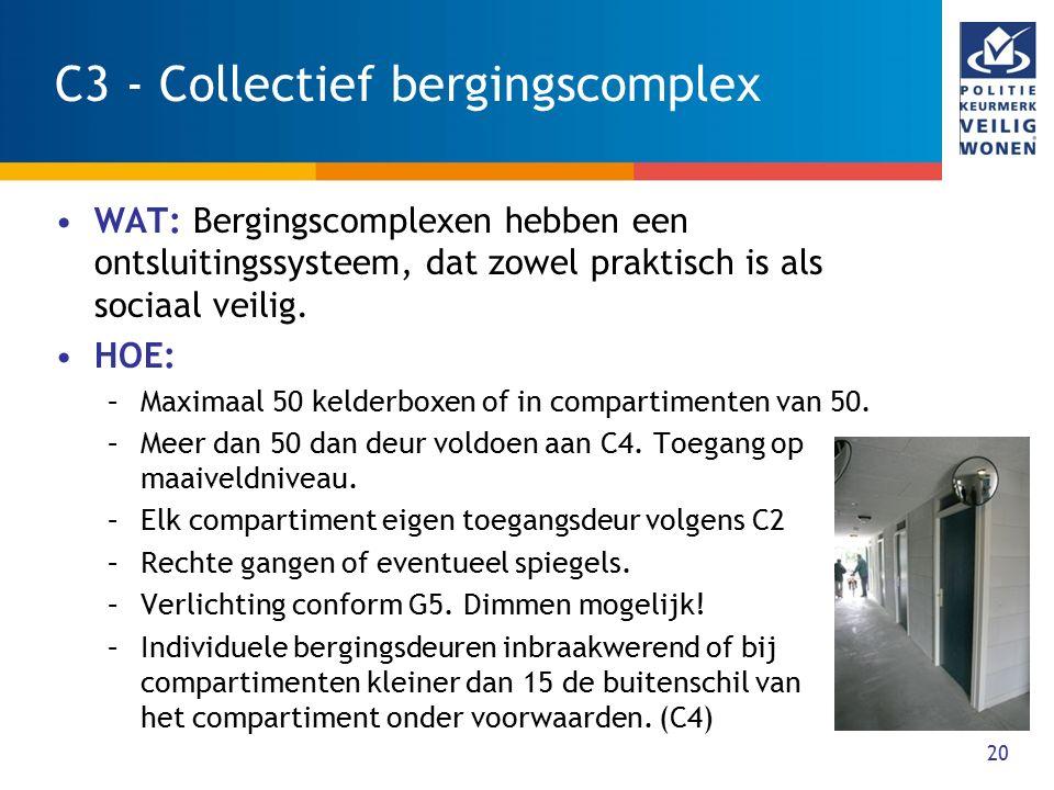 C3 - Collectief bergingscomplex