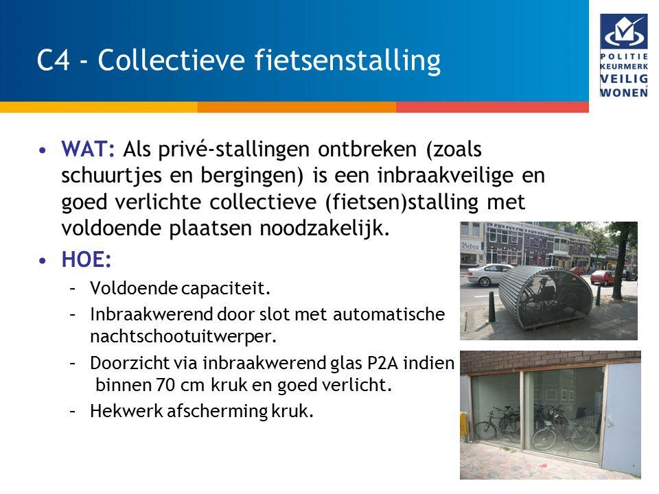 C4 - Collectieve fietsenstalling
