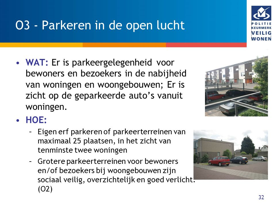 O3 - Parkeren in de open lucht