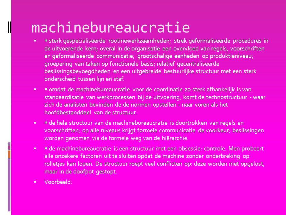 machinebureaucratie