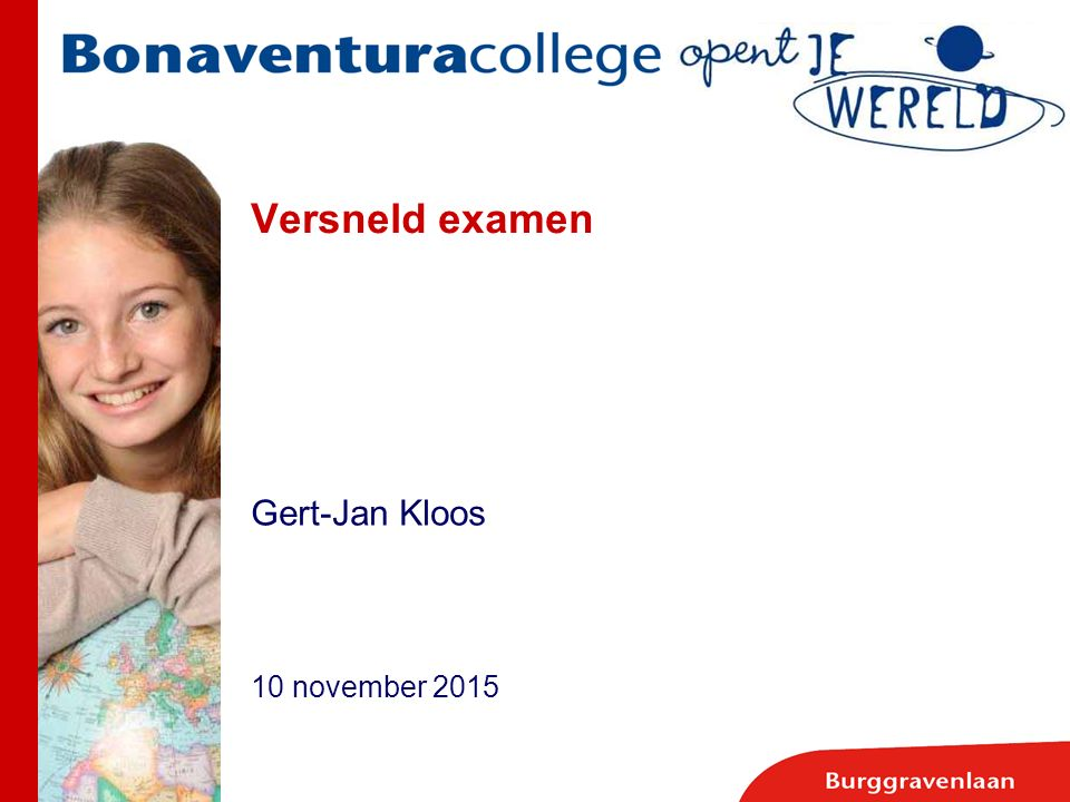 Gert-Jan Kloos 10 november 2015