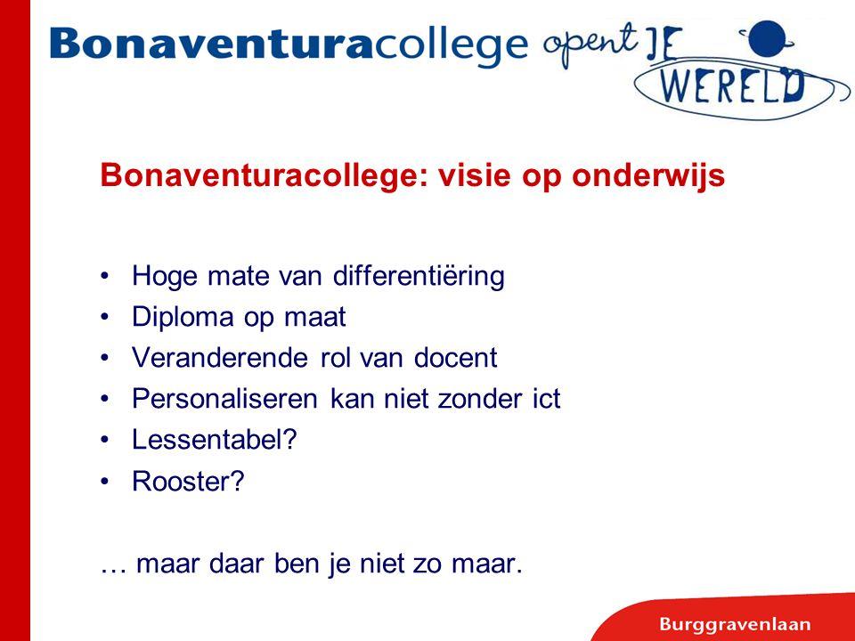 Bonaventuracollege: visie op onderwijs