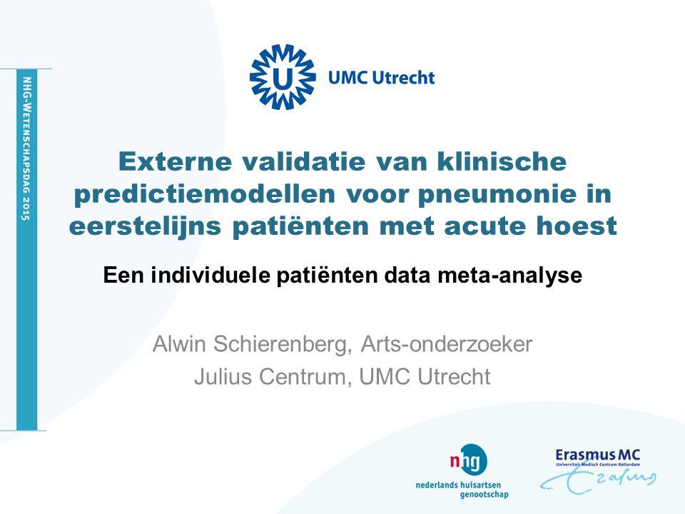 Een individuele patiënten data meta-analyse