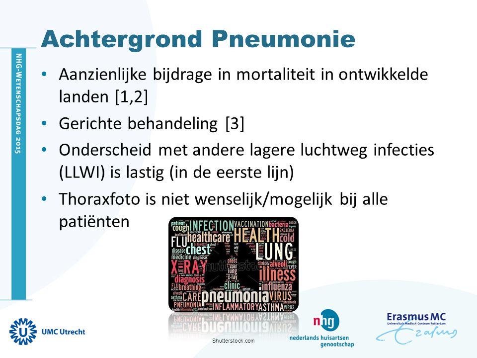 Achtergrond Pneumonie