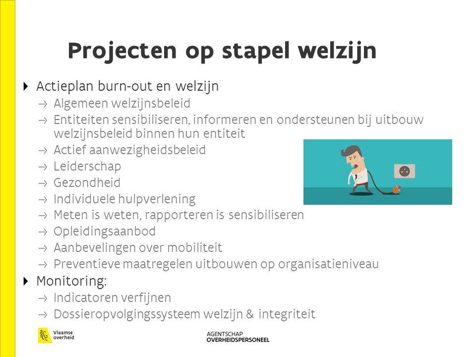 Projecten op stapel welzijn
