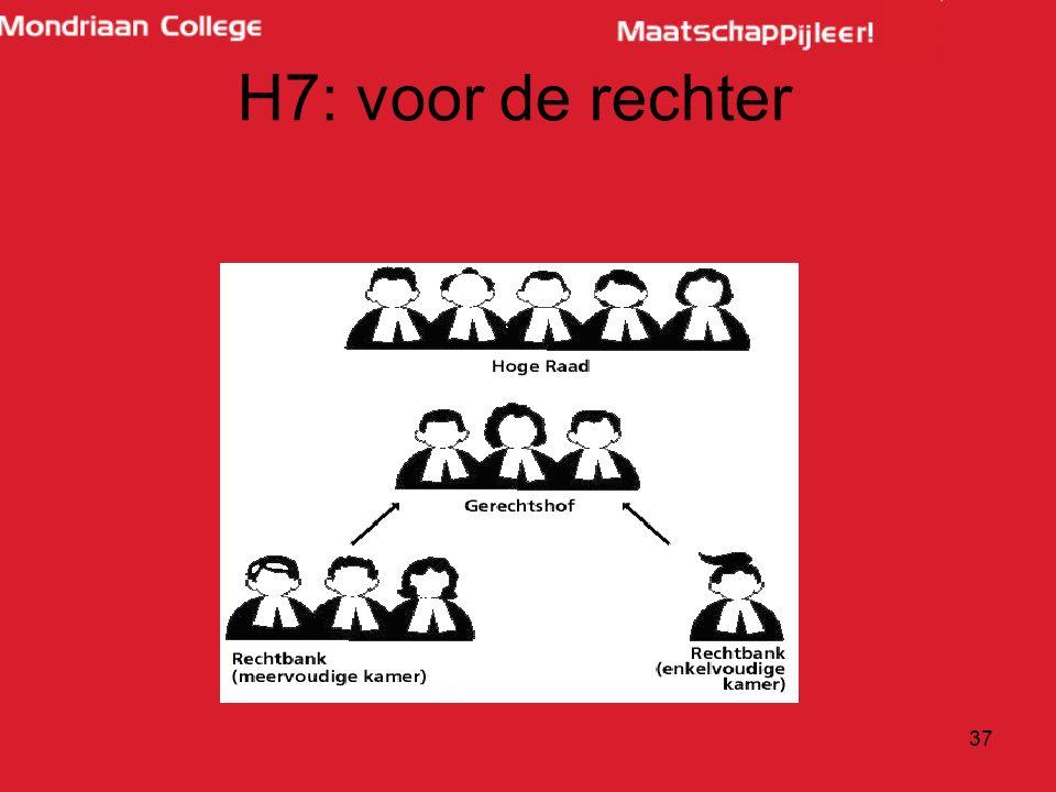 H7: voor de rechter