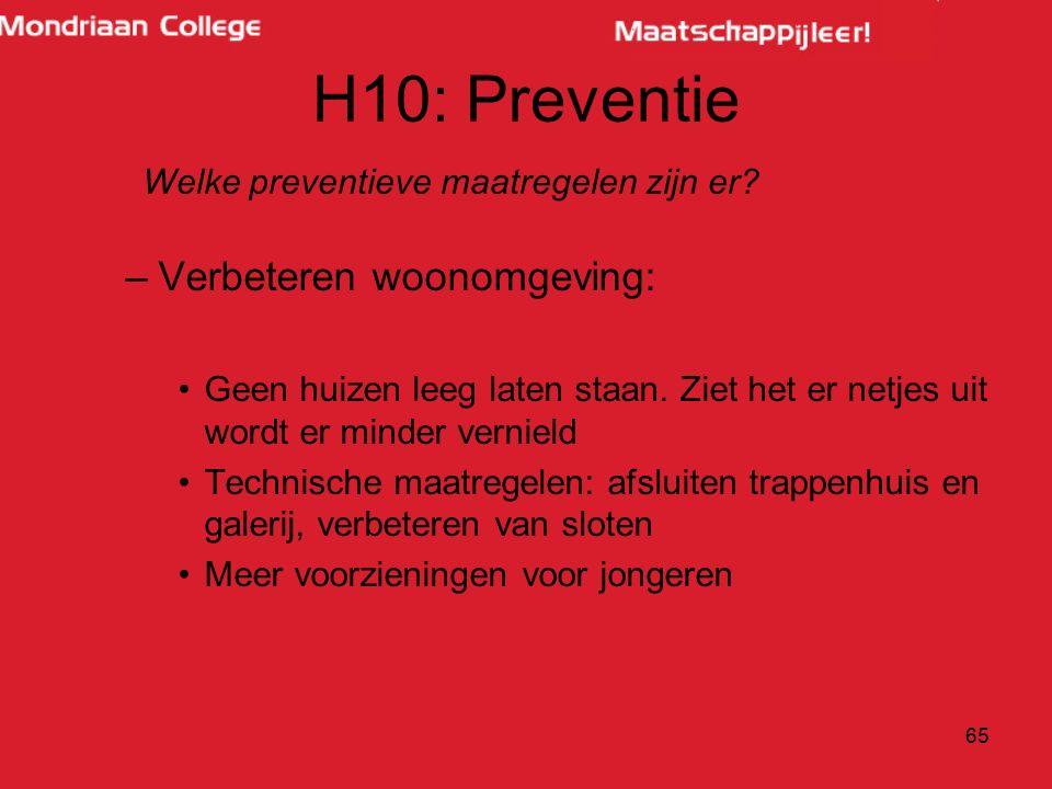 Welke preventieve maatregelen zijn er