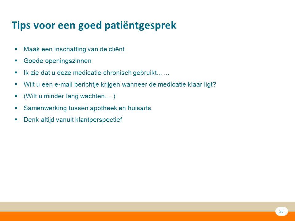 Tips voor een goed patiëntgesprek