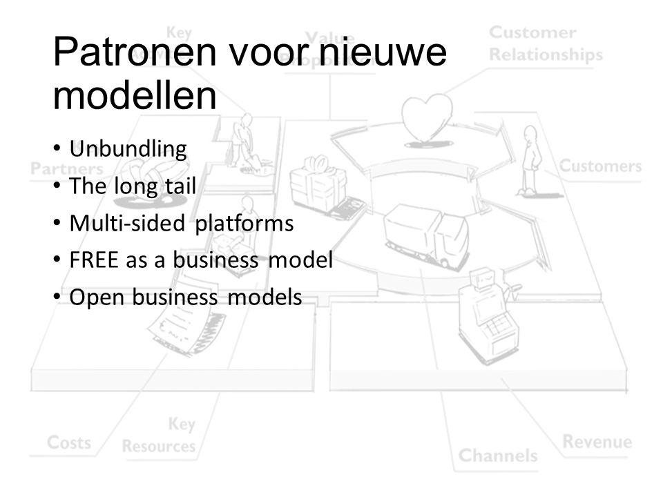 Patronen voor nieuwe modellen